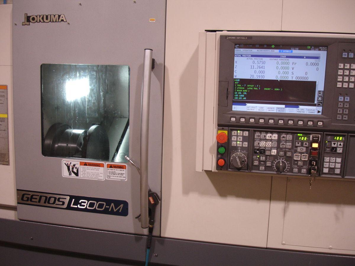 Okuma Genos L300 MW