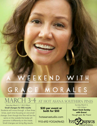 A  weekend  with Grace Morales