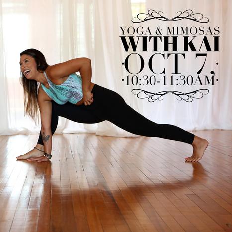 Yoga & Mimosas with Kai