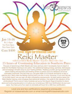 25 Hours | Reiki Master
