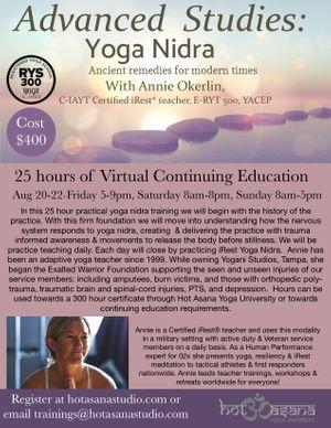 25 Hours | Virtual Yoga Nidra