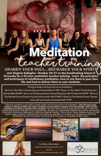 25 Hours   Meditation Teacher Training