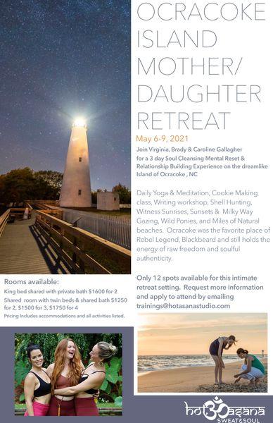 Mother Daughter Retreat 2021