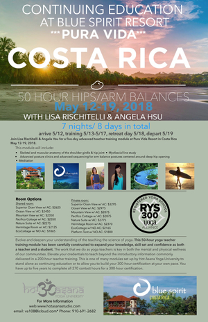 50 hr Hip module in Costa Rica