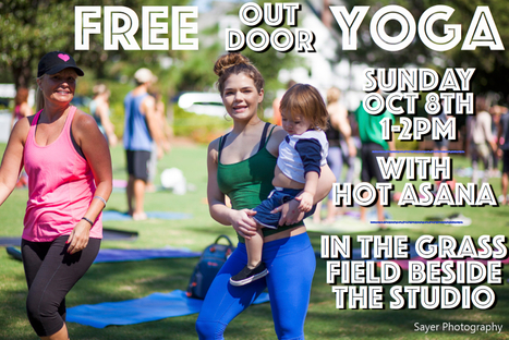 FREE Outdoor Yoga with Daniel