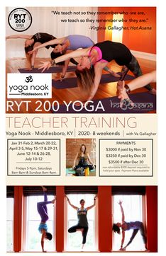 The Yoga Nook 200 Hr