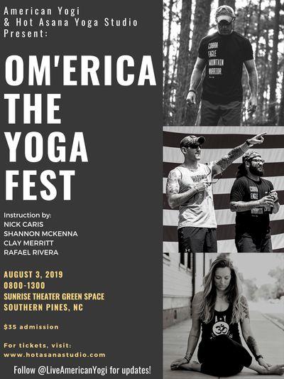 OM'erica Yogafest