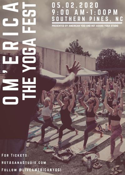 OM'ERICA- The Yoga Fest