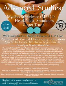 Myofascial Release (MFR) I