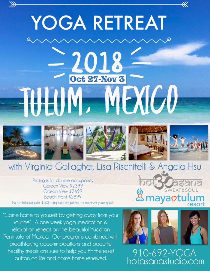 Yoga  Retreat in Mexico