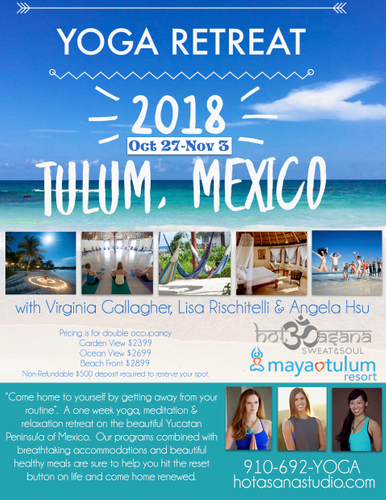 Yoga  Retreat in Mexico