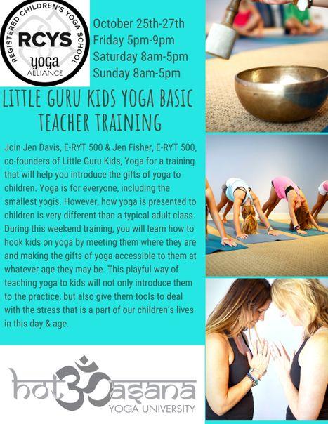 little guru kids yoga basic teacher training