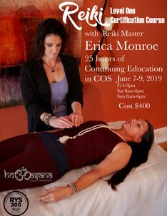 Reiki Level 1 in COS