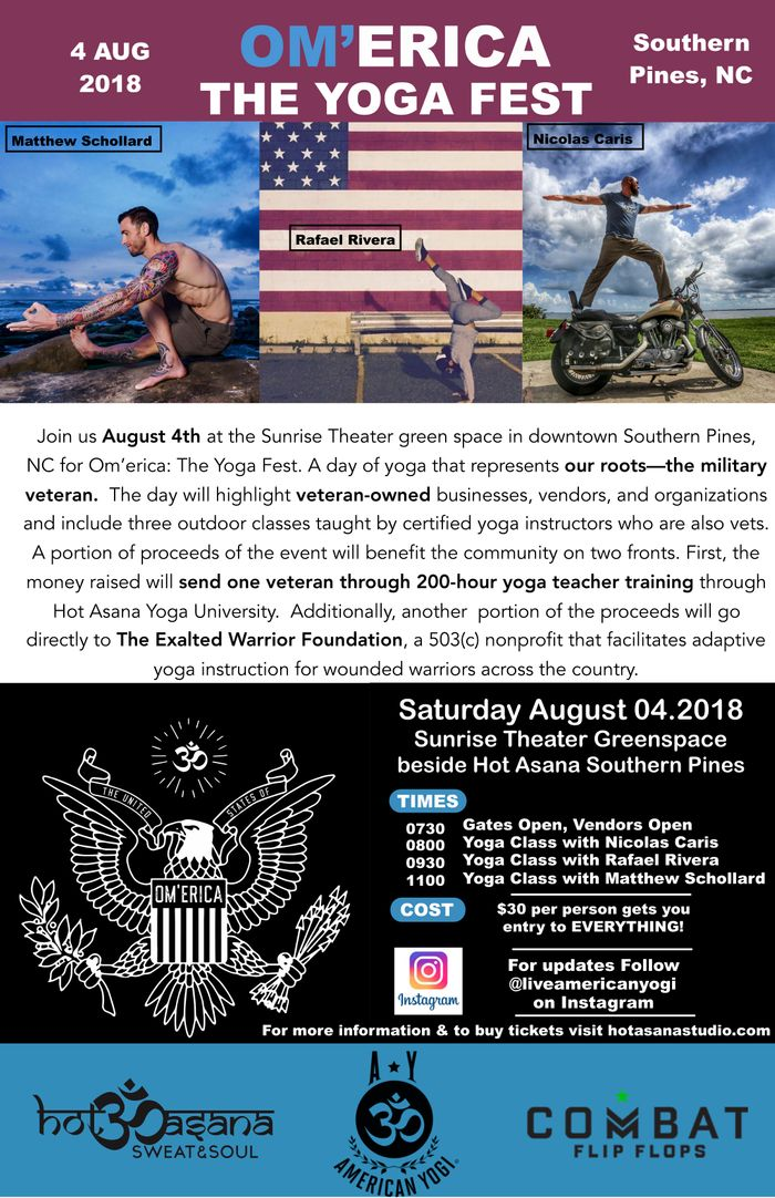 OM'ERICA - The Yogafest