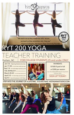 200 hour yoga teacher training for college students 25