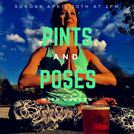 Pints & Poses  at 2 Witches