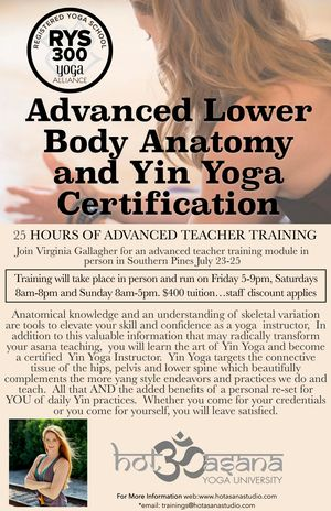 Advanced Lower Body and Yin Yoga