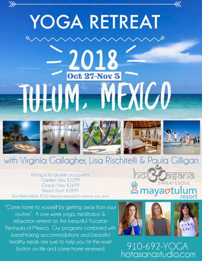 Tulum Retreat 2018