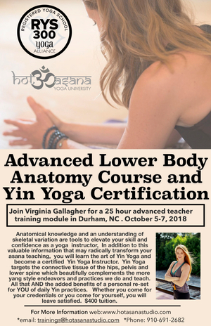 25 Hour Advanced Lower Body Anatomy And Yin Yoga Certification Hot