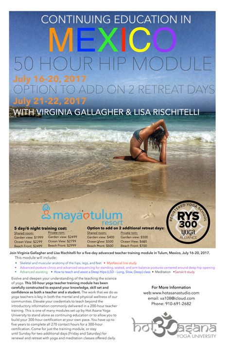 50 hour Hip Module in Tulum