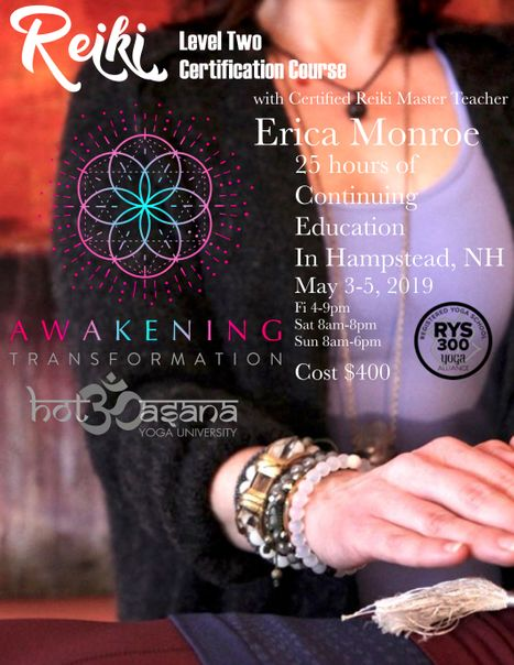 Reiki 2 in NH
