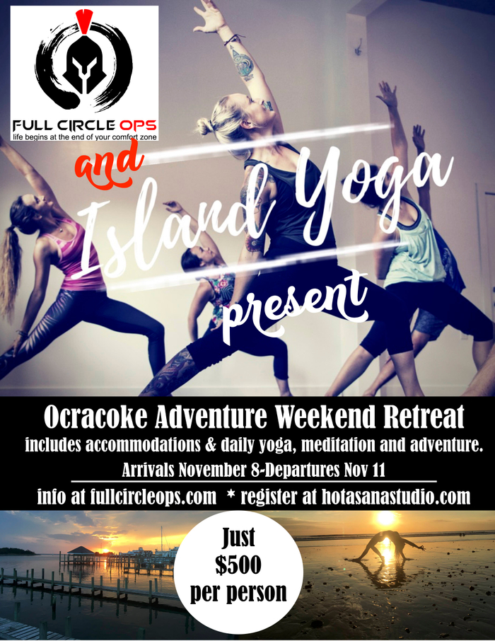 Weekend Adventure Retreat on Ocracoke Island