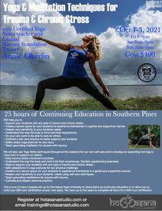 25 Hours | Yoga & Meditation Techniques for Trauma & Chronic Stress