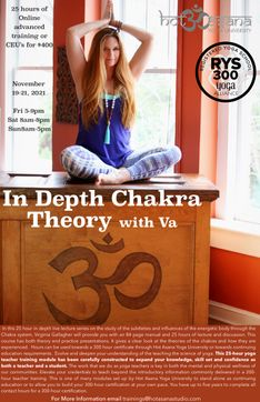 25 Hours | VIRTUAL In Depth Chakra Theory