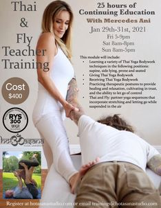 Thai & Fly Yoga Teacher Training