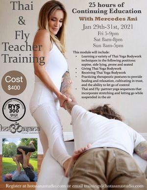 Thai & Fly Yoga Teacher Training
