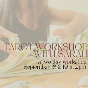 Tarot Workshop with Sarah