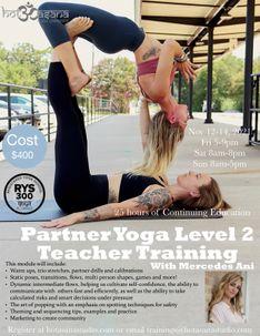 25 Hours | Partner Yoga Level 2