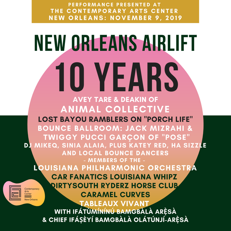 New Orleans Airlift 10th Anniversary