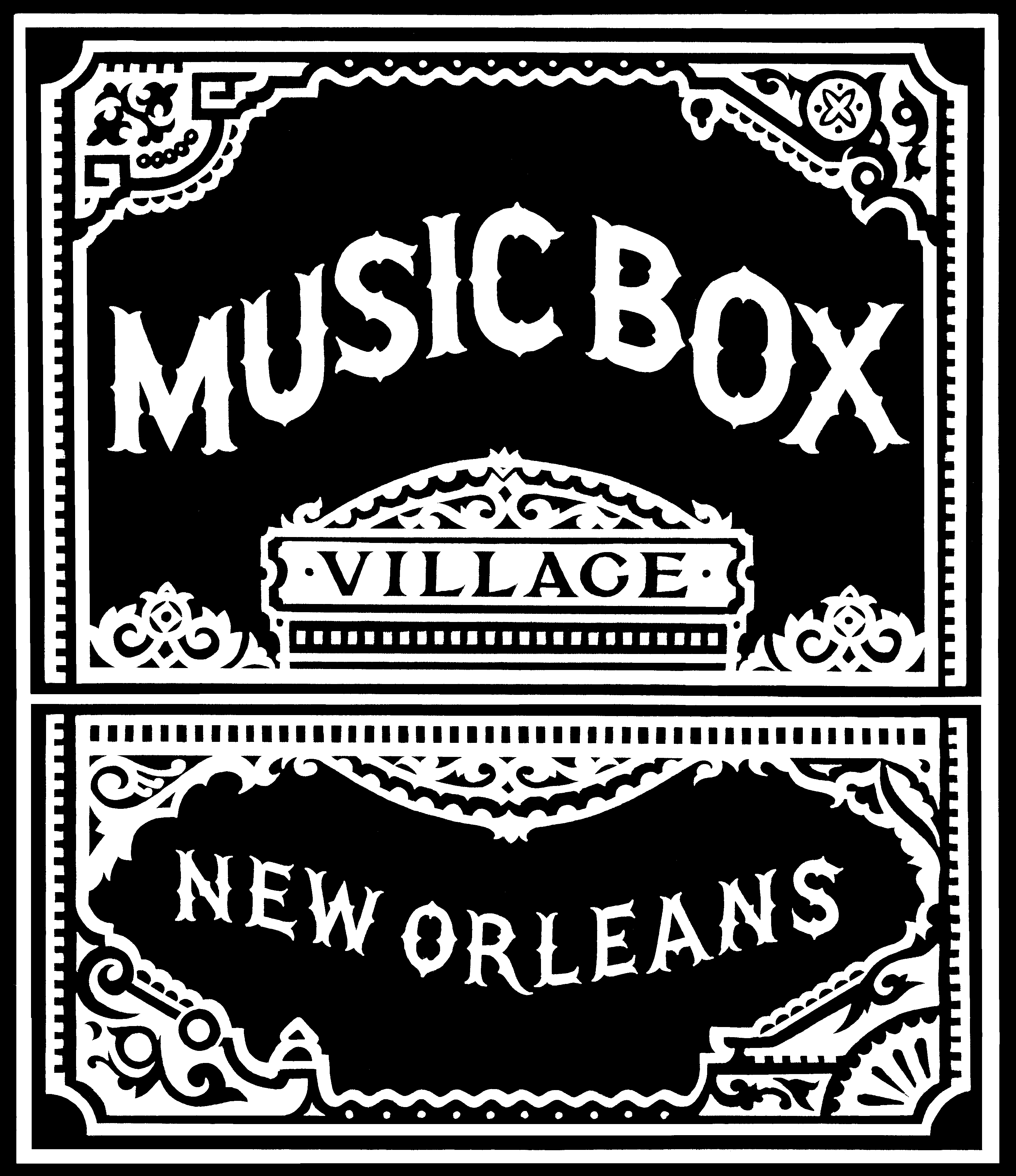 music box village logo