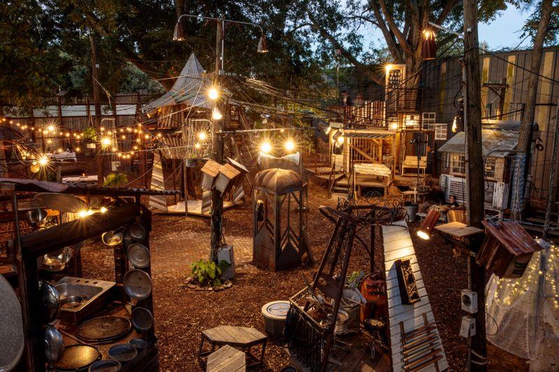 Music Box Village, N Rampart