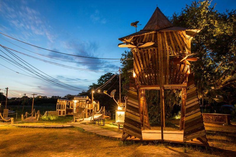 Music Box: Roving Village, City Park