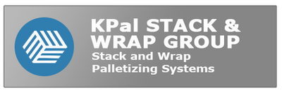 Stack and wrap palletizing manufacturing systems