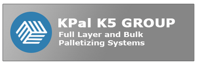 Full layer and bulk palletizing system