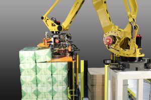 Paper Product Palletizing System