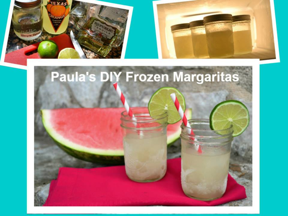 DIY Frozen Margaritas