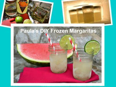 DIY Frozen Margaritas