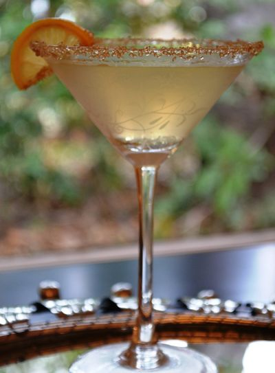 Texas Lemon Drop Martini