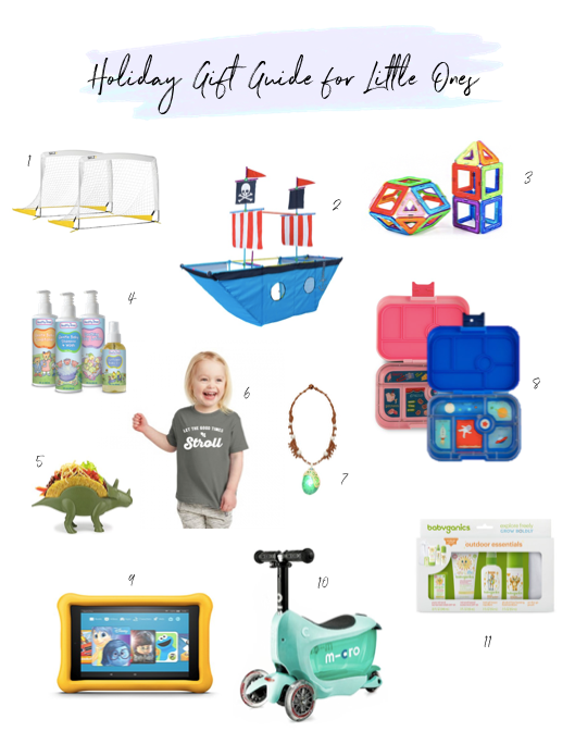 holiday gift guide for kids and babies