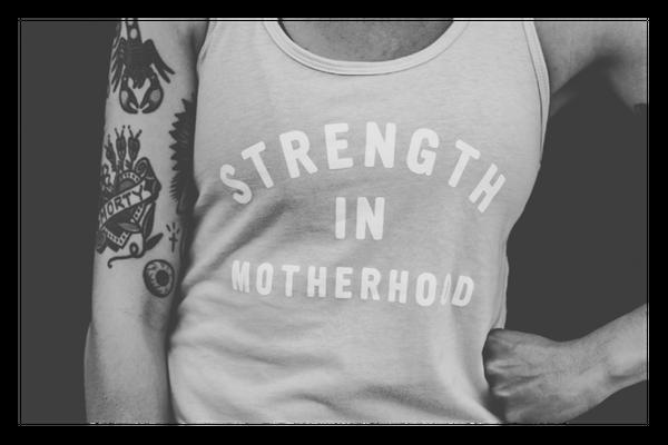 fit4mom strength in motherhood tank top