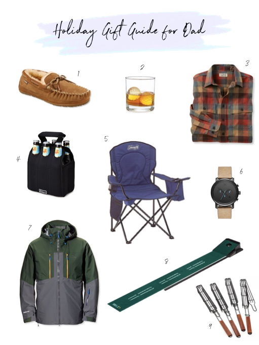 holiday gift guide for dad