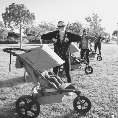 bob alterrain stroller workout