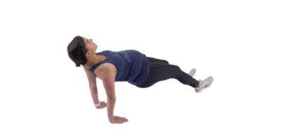 reverse plank prenatal exercuse