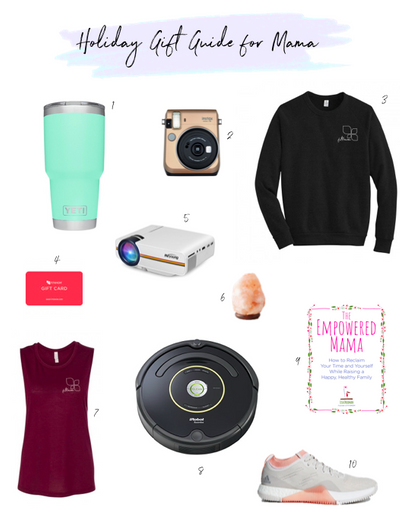 holiday gift guide for mama