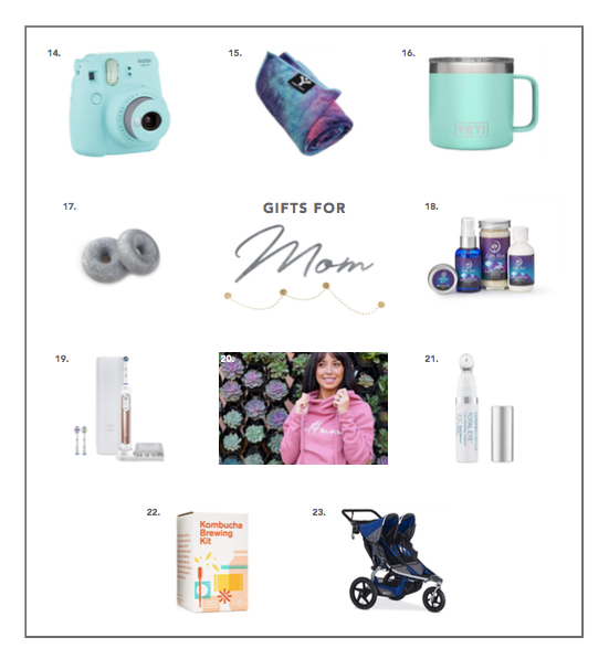 2018 holiday gift guide for mom