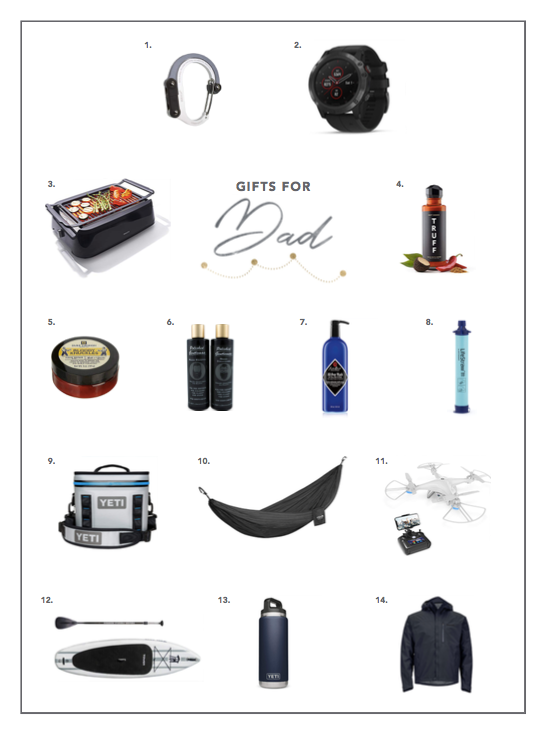 2018 holiday gift guide for dad